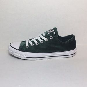 🛍 CONVERSE CTAS OX SHOES DEEP EMERALD/WHITE/WHITE